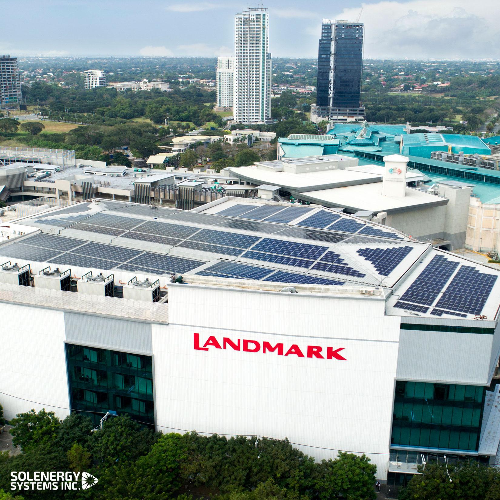 Landmark-Alabang-Solenergy